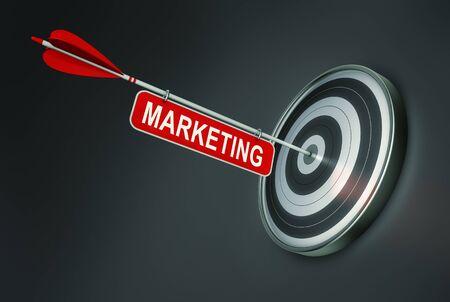 marketing concept: Marketing Concept Stock Photo