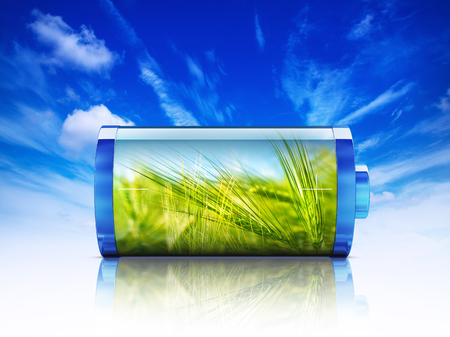 long lasting: Green Energy Stock Photo