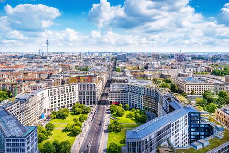 Berlin city center Stock Photo