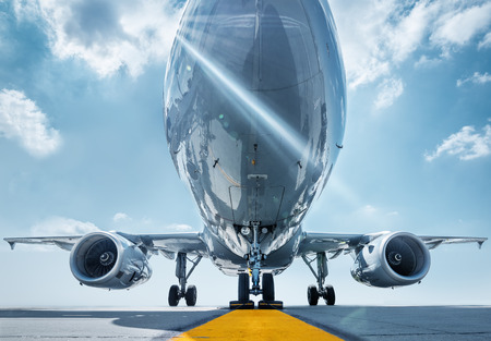 Aircraft ready for take off