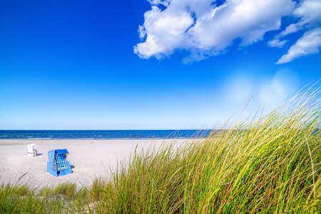 Sunny day at the baltic sea, usedom - germany