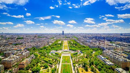 panoramic view at central paris