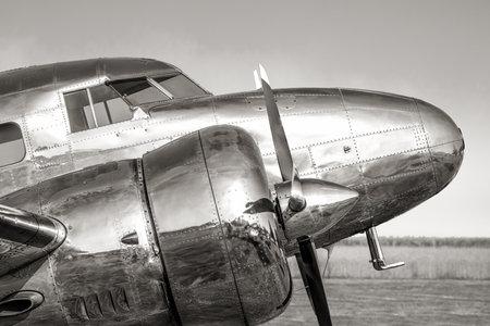 cockpit of an historical aircraft