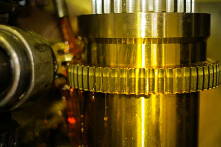 metalworking industry: The industry of metalworking by cutting, gear-cutting manufacturing of parts and gears with oil cooling in production.