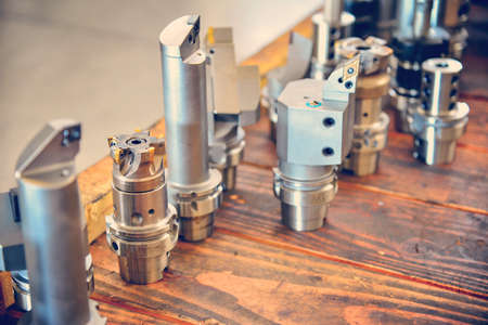 Cutter, mill and soldering equipment for metal processing on CNC milling machines