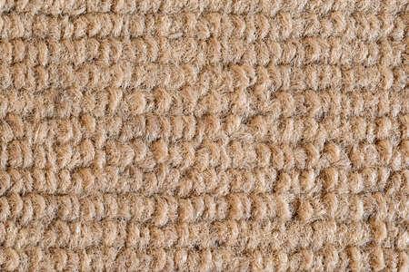 Texture of dark beige fabric close-up, fabric texture. 版權商用圖片