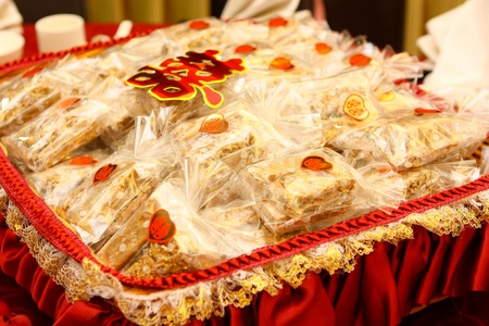 jipang is snack reserved in engagement  chinese tradition called baki seserahan   photo