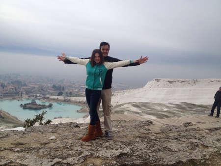 You  me at Hiedrapolis Turkey