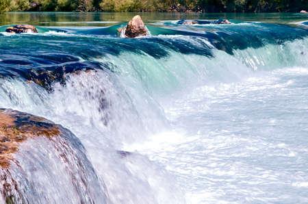 Beautiful river flow Stock Photo