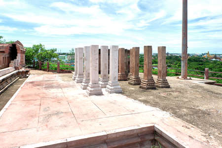 ruins of the ancient temple