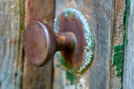 old lock on the door Reklamní fotografie