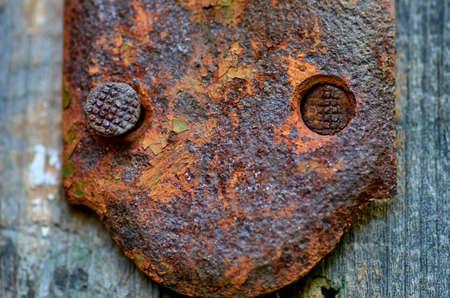 old rusty metal background Reklamní fotografie