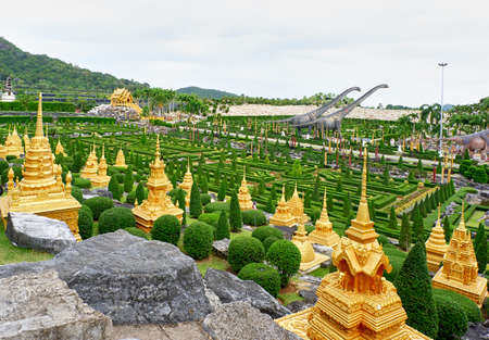 Golden stupas of Asia