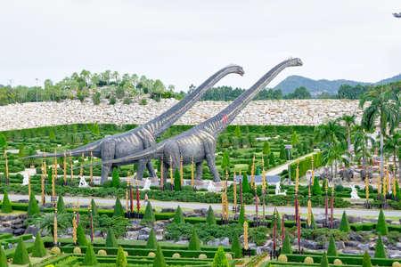 Dinosaurs on a walk