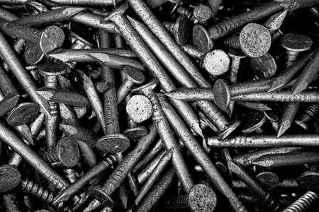 Metal nail Zdjęcie Seryjne