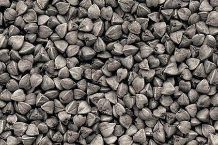 Buckwheat in black and white image Zdjęcie Seryjne