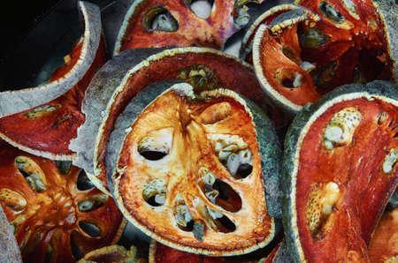 Dried stone apple fruit Zdjęcie Seryjne