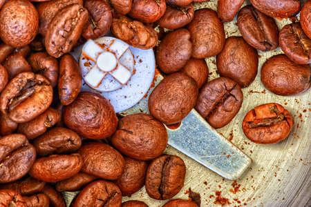 coffee beans for grinding Zdjęcie Seryjne