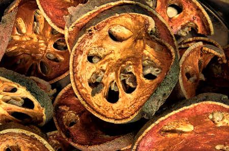 Dried stone apple