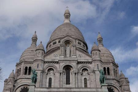Sacr�-Coeur, Montmartre in Paris Stock Photo