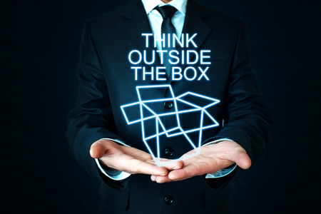 Think Outside The Box Stock Photo - 101319647