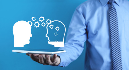 Idea concept. Knowledge transfer. Business concept 写真素材