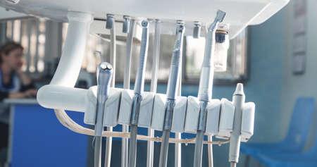 Dental clinic. Stomatological equipment. Tooth care Zdjęcie Seryjne