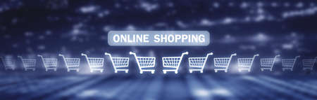 Online Shopping. Internet, Business, Technology