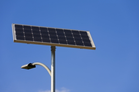 solar energy street lamp Stock Photo - 17617969
