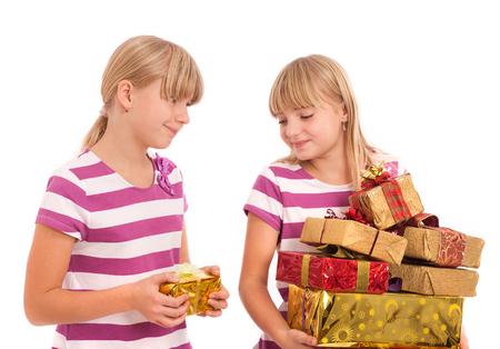 unfair: Favoritism in gift giving is unfair