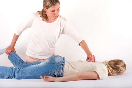 holistic care: Bowen therapy of a teen girl