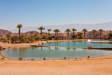timna: The Timna lake in Timna National park near to Eilat, Israel