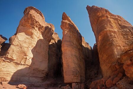 arava: The Solomons Pillars geological and historical place in Timna Park near to Eilat, Israel.