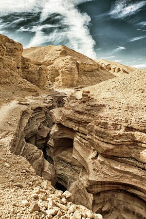 The Red Canyon tourist attraction in Israel