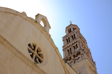 A detail from the Diocletian Palace in Split city, Croatia