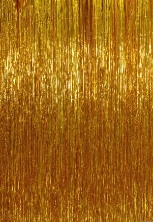 Bronze shimmer shiny golden Christmas lights background