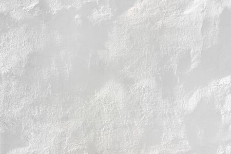 lWhite Home plaster wall texture background Solid image grungy plan concrete. Stock Photo