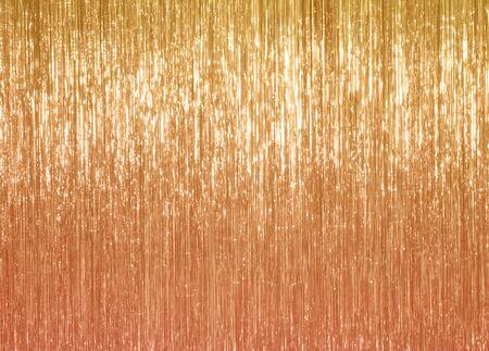 Gold, Karamell, Sand solider Hintergrund Lametta-Farbtrend 2020 Standard-Bild