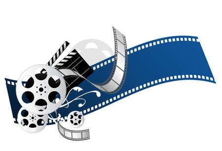 movie elements Illustration