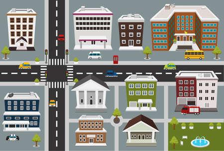 servicios publicos: mapa del área de servicios públicos