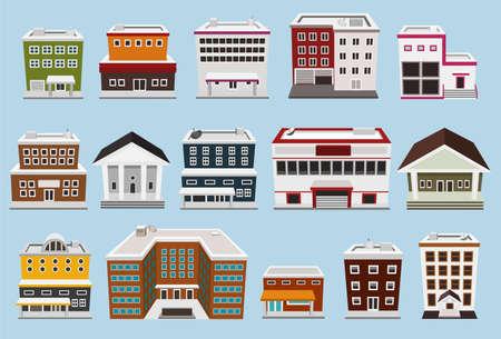 Gebäude Sammlung
