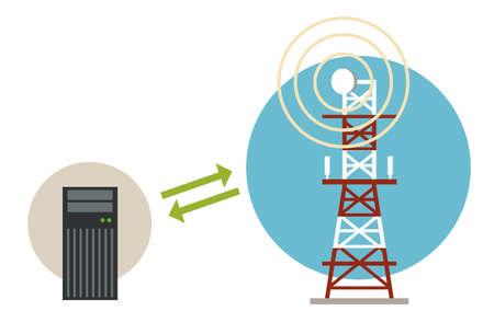 antenna: Communication data