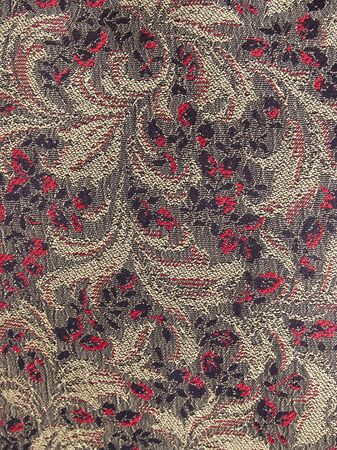 The texture of cloth with ornament