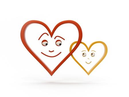 feeling heart, 3d model