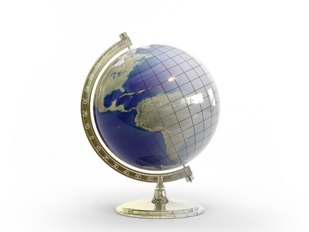 This 3D model of our planets Globe