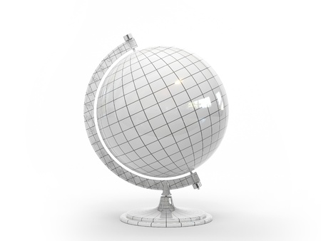 This 3D model of our planets Globe photo