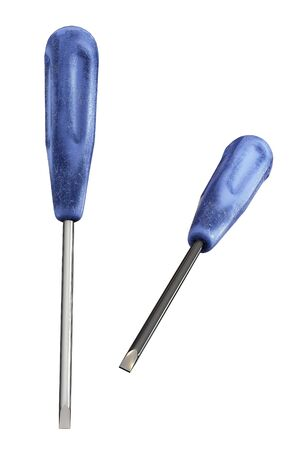 Screwdriver, isolated on a white background photo