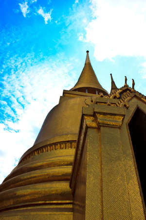 Pagodas at Wat Phra Kaew photo