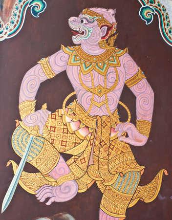 Mural in Wat Phra Kaew