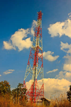 The antenna photo